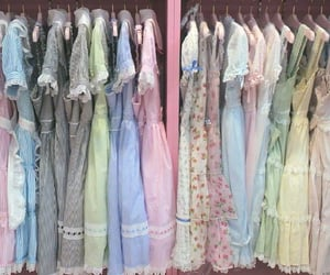 beautiful, clothes, and delicate image