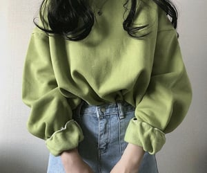 fashion, aesthetic, and green image