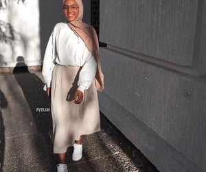 fashion, hijab, and nike image