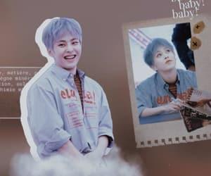 exo, minseok, and wallpaper image