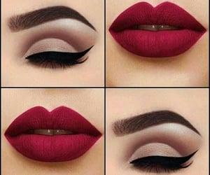 lipstick, make up, and makeup image