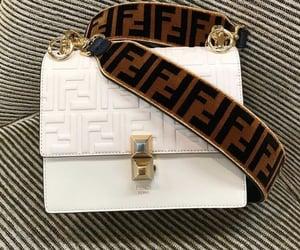 white, bag, and fashion image