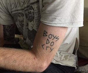 tattoo, boy, and aesthetic image