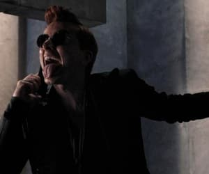 crowley, david tennant, and good omens image