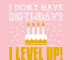 birthdays, gamer, and level up image