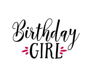 birthday girl, celebration, and happiness image