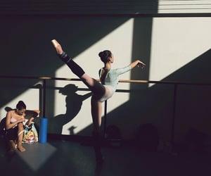 arabesque, ballerina, and ballet image