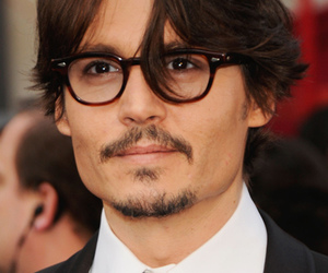 glasses, johnny depp, and sexy image