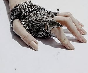 hand and silver image