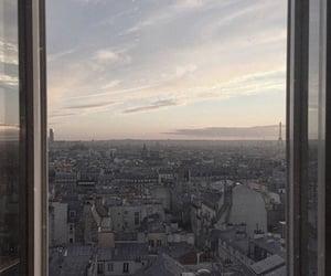 paris, sunset, and travel image
