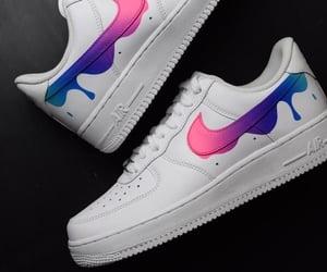nike, pink, and purple image