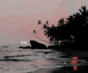 aesthetic, background, and beach image
