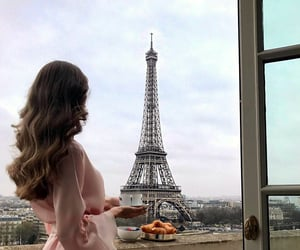 hair, paris, and travel image