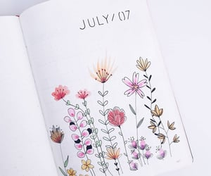 bujo, art, and journal image