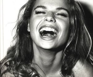 girl, smile, and laugh image