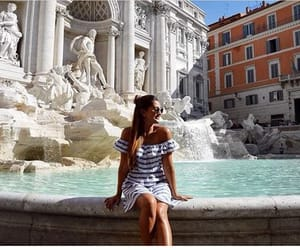 beautiful, fountain, and city image