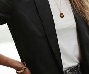 fashion, black, and blazer image