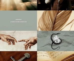 aesthetic, angel, and aziraphale image