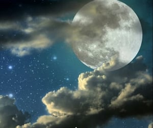 clouds, lovely, and good night image