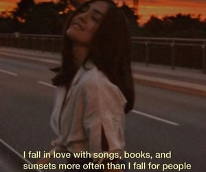 books, quotes, and songs image