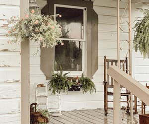country living, porch, and farm image