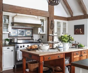 country living, decorating, and kitchen image