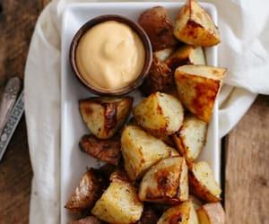 food, potato, and yummy image