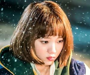 hair and koreangirl image