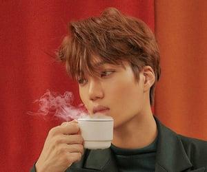 exo, kim jongin, and cafe universe image