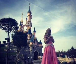 aesthetic, castle, and disney princess image