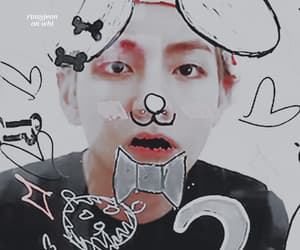 aesthetic, theme, and taehyung image