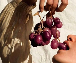 aesthetic, grapes, and fruit image