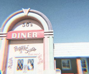 theme, aesthetic, and diner image