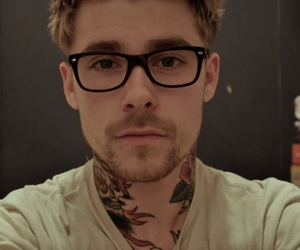 tattoo, glasses, and boy image