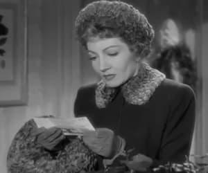 gif, claudette colbert, and tomorrow is forever image