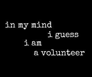 Lyrics, volunteer, and waves image