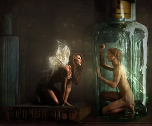 art, fairy, and magical image