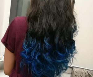 blu, color, and blu hair image