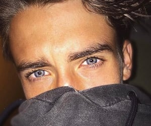 blue, eyes, and guy image