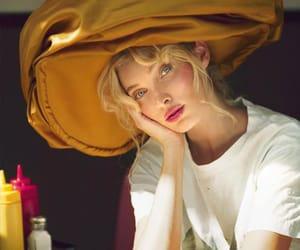 elsa hosk, fashion, and hair image