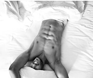 from instagram and hot guy in bed image
