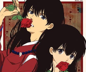 anime, roses, and cute image