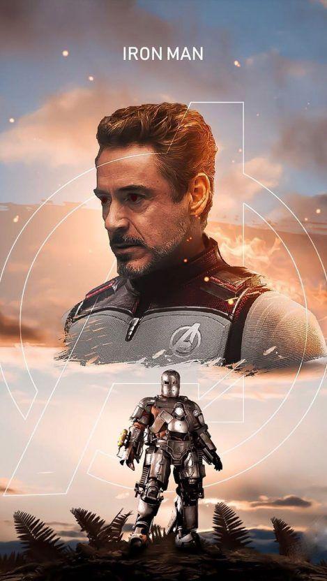 The Iron Man Tony Stark Iphone Wallpaper On We Heart It