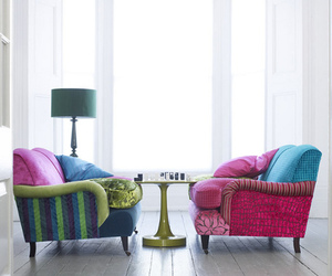 bright, color splash, and furniture image