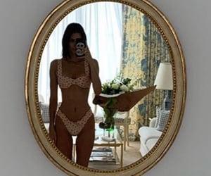 icon, kardashians, and mirror selfie image