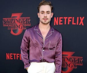 season 3, stranger things, and dacre montgomery image