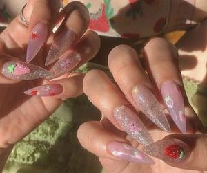 nails, woman, and cute image