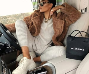 girl, Balenciaga, and fashion image