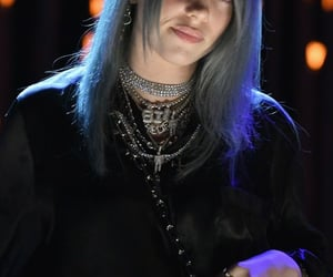 blue hair, celebrity, and fashion image