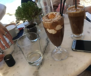 chocolate, coffee, and frappe image